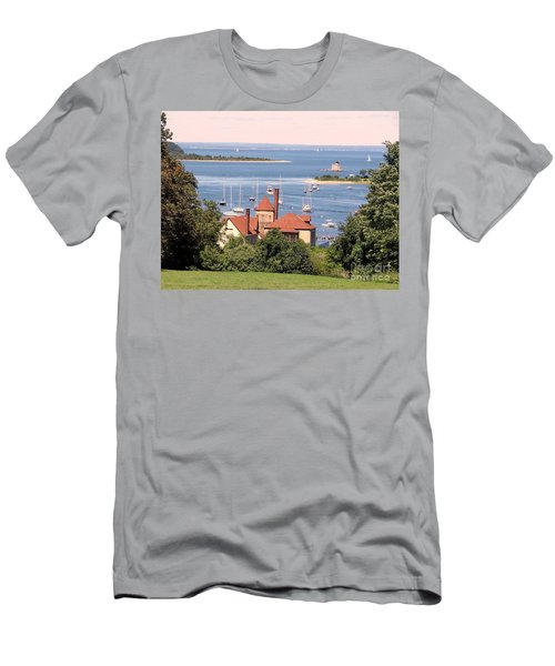 Coindre Hall Boathouse Men's T-Shirt (Athletic Fit)