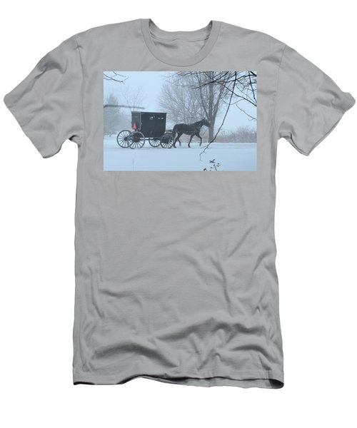 Cold Amish Morning Men's T-Shirt (Athletic Fit)