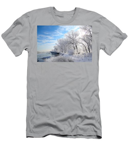 Cold Frosty Morning Men's T-Shirt (Athletic Fit)