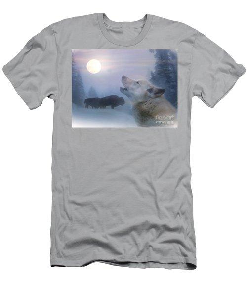 Cold Moon Men's T-Shirt (Athletic Fit)