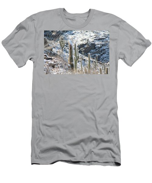 Cold Saguaros Men's T-Shirt (Athletic Fit)