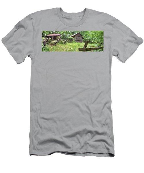 Colonial Village Men's T-Shirt (Slim Fit) by Gordon Elwell