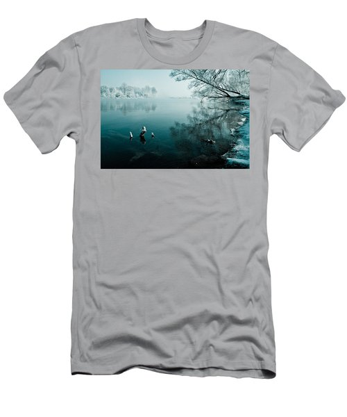 Color Of Ice Men's T-Shirt (Athletic Fit)