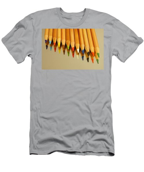 Colored Pencils Men's T-Shirt (Athletic Fit)