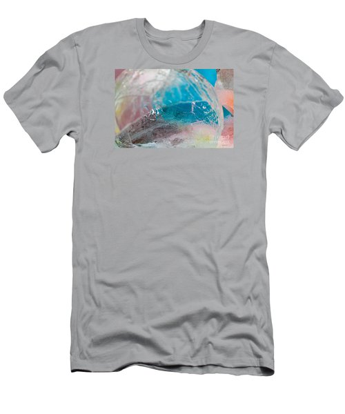 Coloured Ice Creation Print #4 Men's T-Shirt (Slim Fit) by Nina Silver