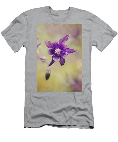 Columbine Flower Men's T-Shirt (Athletic Fit)