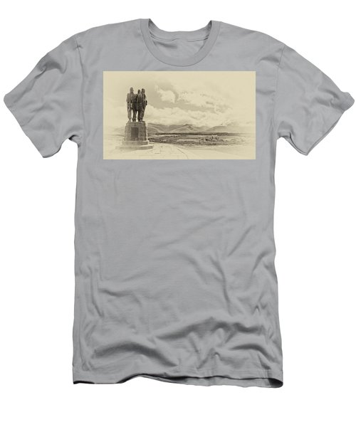 Commando Memorial 3 Men's T-Shirt (Athletic Fit)