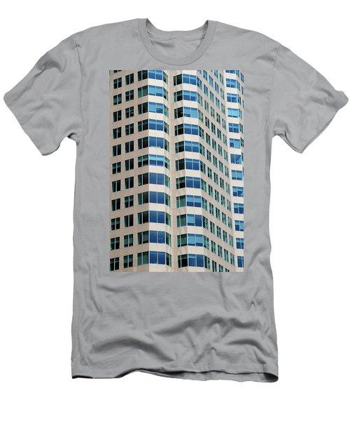 Concrete And Blue Glass Men's T-Shirt (Athletic Fit)