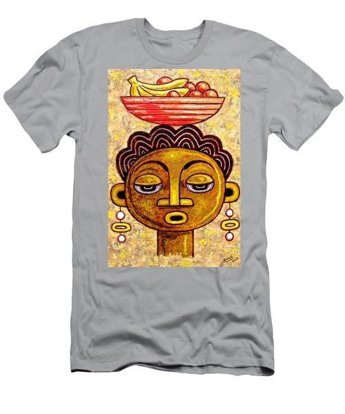 Congalese Face 1 Men's T-Shirt (Athletic Fit)