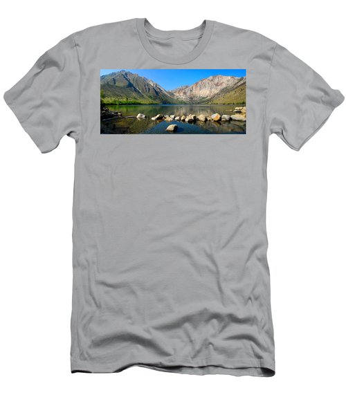 Convict Lake Panorama Men's T-Shirt (Athletic Fit)