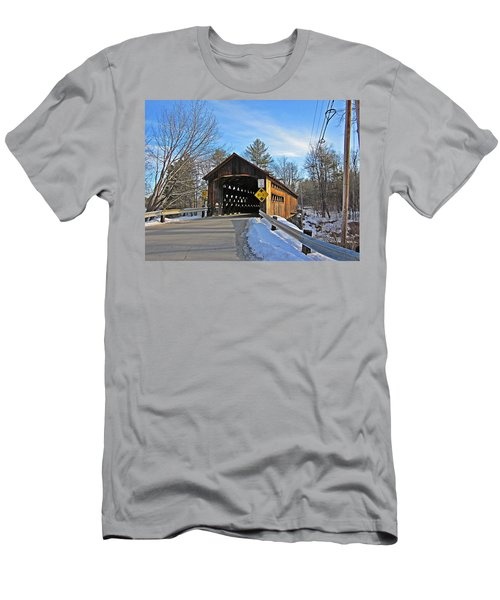 Coombs Covered Bridge Men's T-Shirt (Athletic Fit)