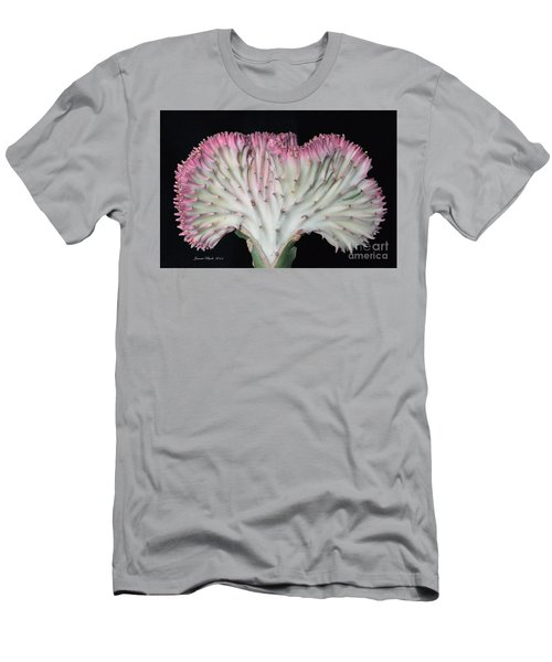 Coral Cactus Men's T-Shirt (Athletic Fit)