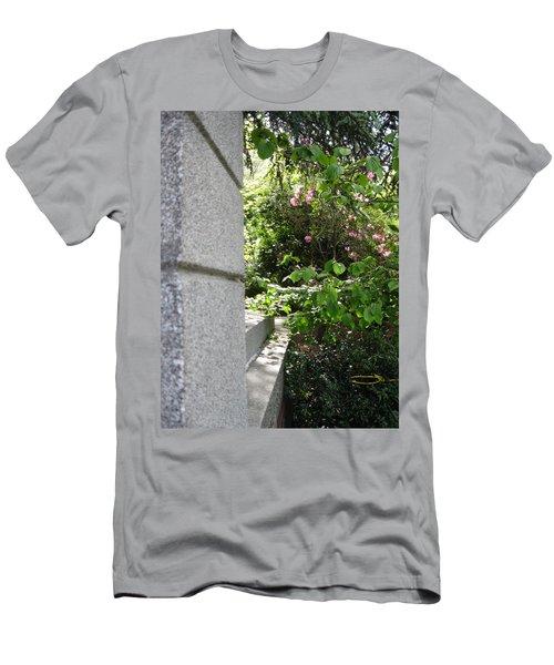 Corner Garden Men's T-Shirt (Slim Fit) by David Trotter