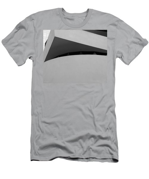 4d90dc920 Corner Of The Guggenheim In Black And White Men's T-Shirt (Athletic Fit)