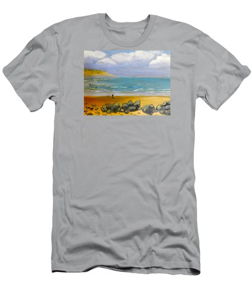 Corrimal Beach Men's T-Shirt (Athletic Fit)