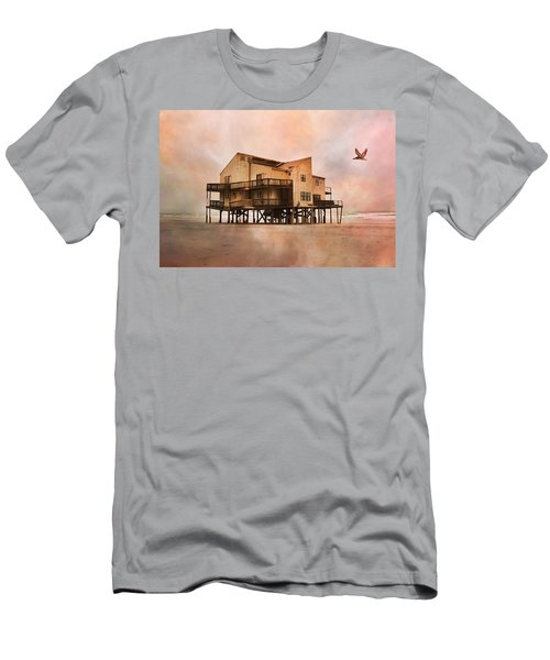 Cottage Of The Past Men's T-Shirt (Athletic Fit)