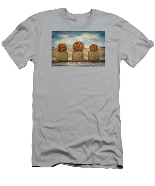 Men's T-Shirt (Slim Fit) featuring the photograph Country Halloween by Patti Deters