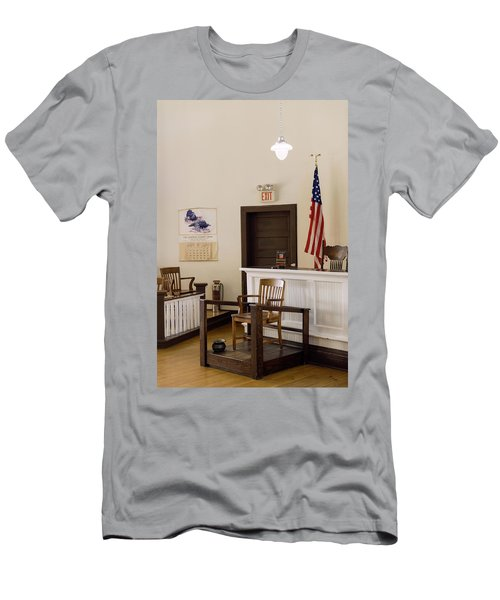 Courtroom Of The Old Monroe County Men's T-Shirt (Athletic Fit)