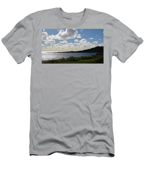 Cowaramup Bay 2.2 Men's T-Shirt (Slim Fit) by Cheryl Miller