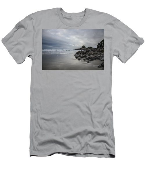 Cox Bay Afternoon  Men's T-Shirt (Slim Fit) by Roxy Hurtubise