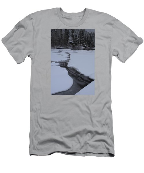 Cracked Ice  Men's T-Shirt (Slim Fit) by Duncan Selby