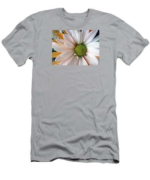 Men's T-Shirt (Slim Fit) featuring the photograph Creamsicle by Jean OKeeffe Macro Abundance Art