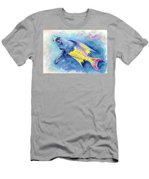Creole Wrasse Men's T-Shirt (Athletic Fit)