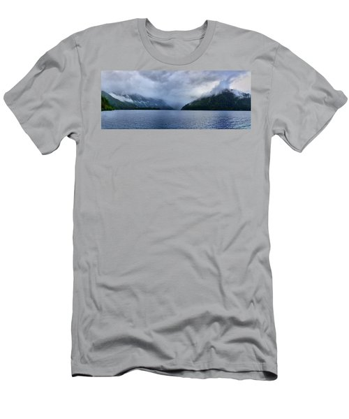 Crescent Lake Men's T-Shirt (Athletic Fit)