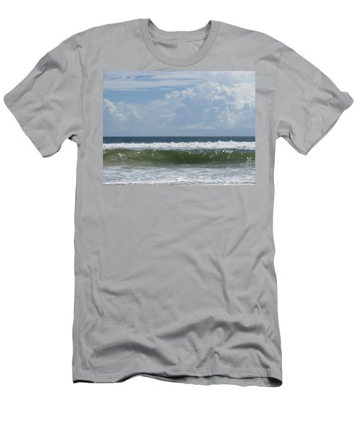 Cresting Wave Men's T-Shirt (Slim Fit) by Ellen Meakin