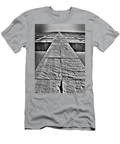 Cross Men's T-Shirt (Slim Fit) by Mark Alder