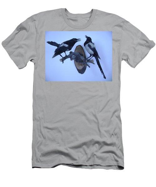 Crows Men's T-Shirt (Athletic Fit)