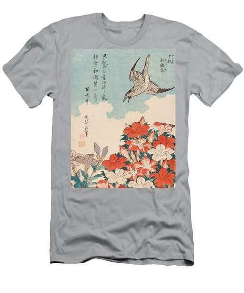 Cuckoo And Azaleas Men's T-Shirt (Athletic Fit)