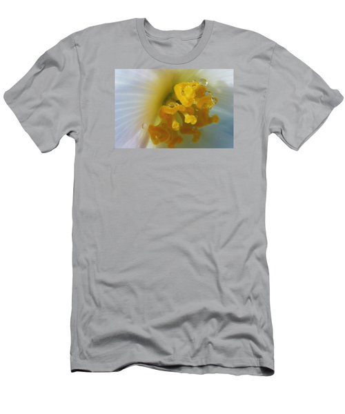 Men's T-Shirt (Slim Fit) featuring the photograph Curly by Wendy Wilton
