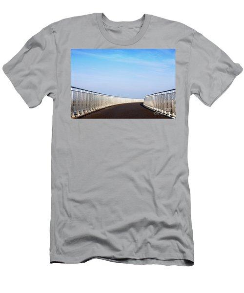 Curved Bridge Men's T-Shirt (Athletic Fit)
