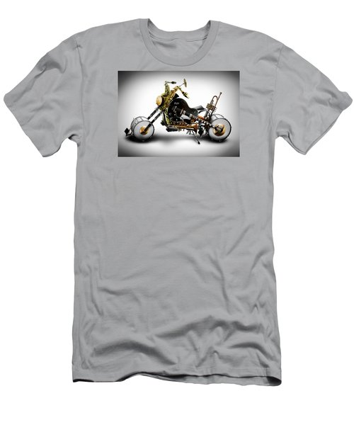 Custom Band II Men's T-Shirt (Slim Fit) by Alessandro Della Pietra