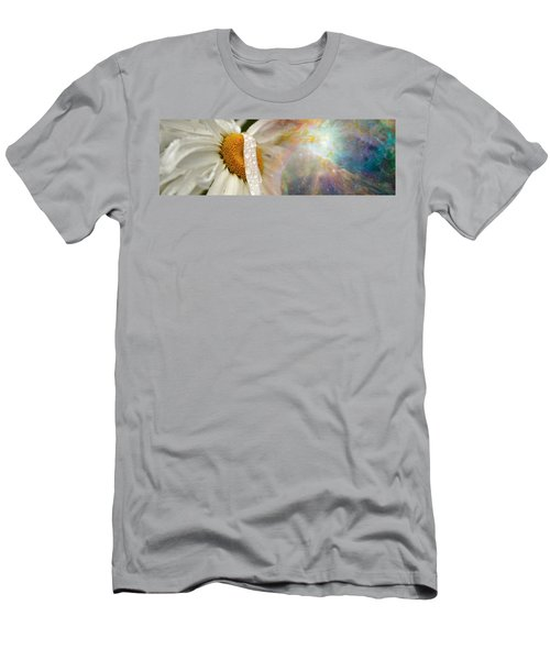 Daisy With Hubble Cosmos Men's T-Shirt (Athletic Fit)