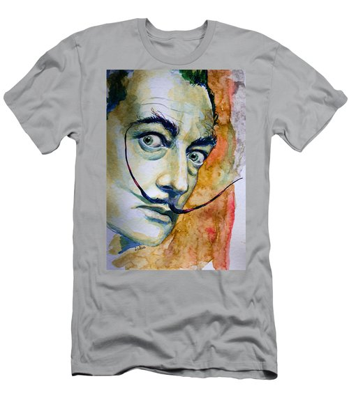 Men's T-Shirt (Slim Fit) featuring the painting Dali by Laur Iduc