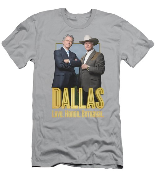 Dallas - Big Two Men's T-Shirt (Slim Fit) by Brand A