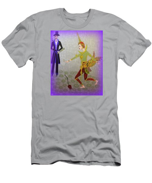 Dance Of A Nymph Men's T-Shirt (Slim Fit) by Marie Schwarzer