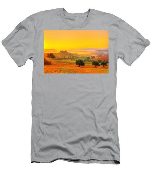 Dance Of Dawn Men's T-Shirt (Athletic Fit)