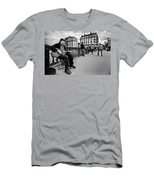 Dancing In The Streets Of Paris / Paris Men's T-Shirt (Athletic Fit)