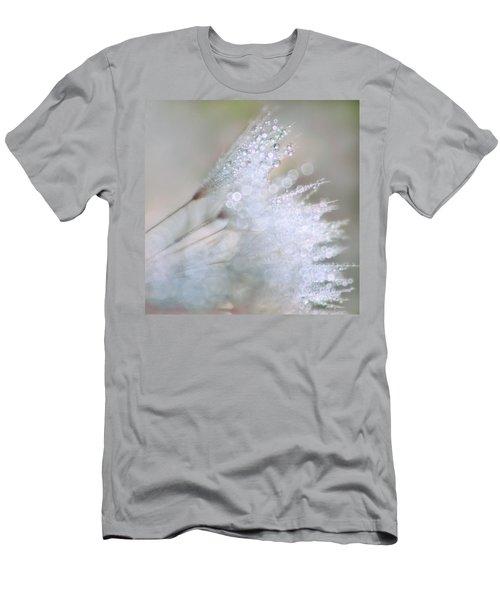 Dandelion Bling Bokeh Men's T-Shirt (Athletic Fit)