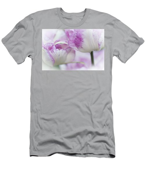 Dappled Tulips. The Tulips Of Holland Men's T-Shirt (Athletic Fit)