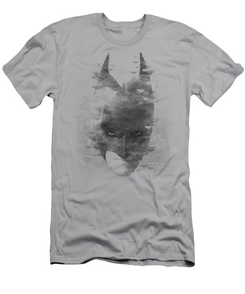 Dark Knight Rises - Bat Head Men's T-Shirt (Athletic Fit)