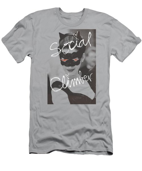 Dark Knight Rises - Social Climber Men's T-Shirt (Athletic Fit)