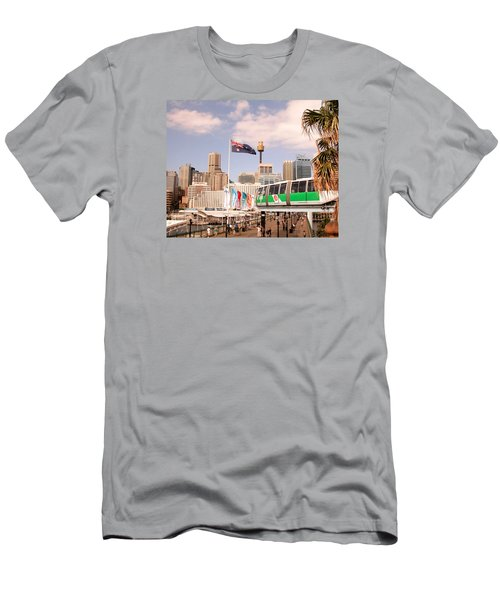 Darling Harbor Men's T-Shirt (Athletic Fit)