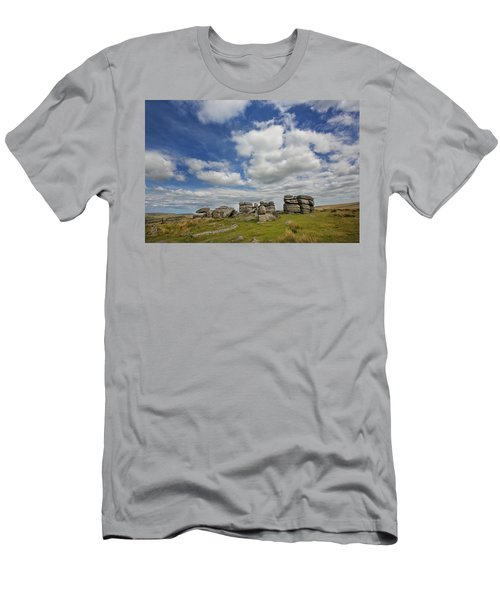 Dartmoor Tor Men's T-Shirt (Athletic Fit)