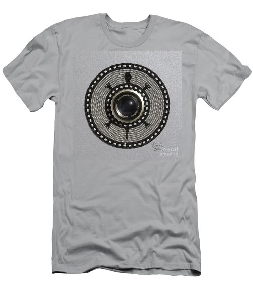 Camera Lens Men's T-Shirt (Athletic Fit)