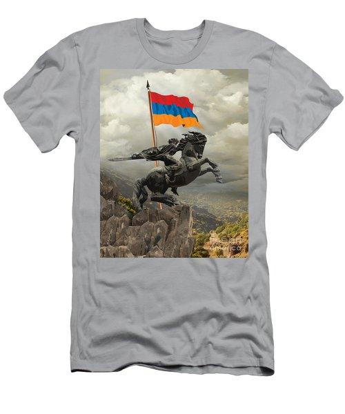 David Of Sassoun Men's T-Shirt (Athletic Fit)