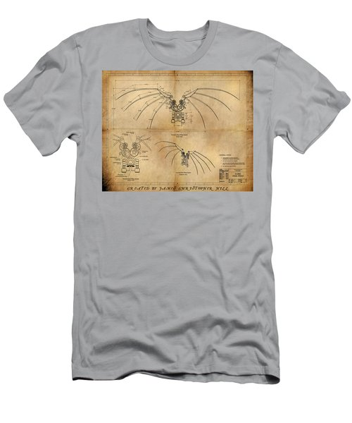 Davinci's Wings Men's T-Shirt (Athletic Fit)
